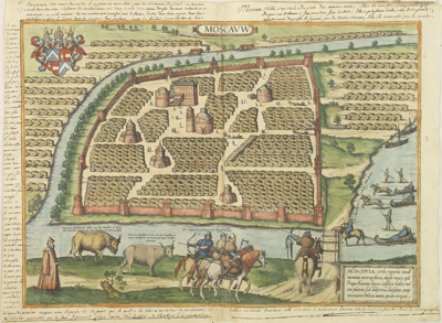 Каталог карт 1575-Cologne-Braun-Hogenberg-mini