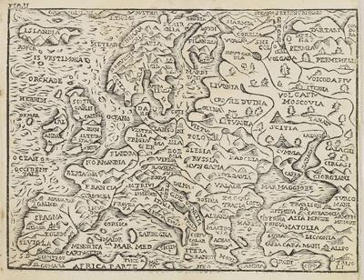 Каталог карт 1660-Antinio-Pisarri-Bologna-Rossaccio-mini