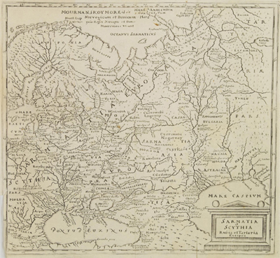 Каталог карт 1661-Cluver-Wolfenbuttel-Sarmatia-Scythia-mini