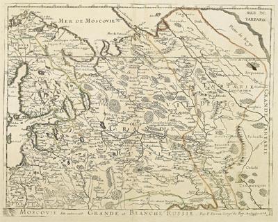 Каталог карт - Страница 2 1679-Chatelain-Crande-Moscovia-mini