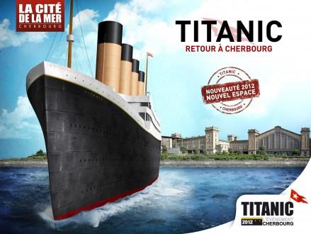 Titanic 2012 cherbourg. Titanic-retour-%C3%A0-Cherbourg_Benoit-Sanson-439x330
