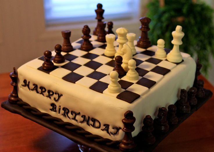 Шахматы - это красиво! - Страница 2 Cake