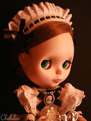Chibiloo's Blythe : Sunday (P.3) Blythebeatricemaid3
