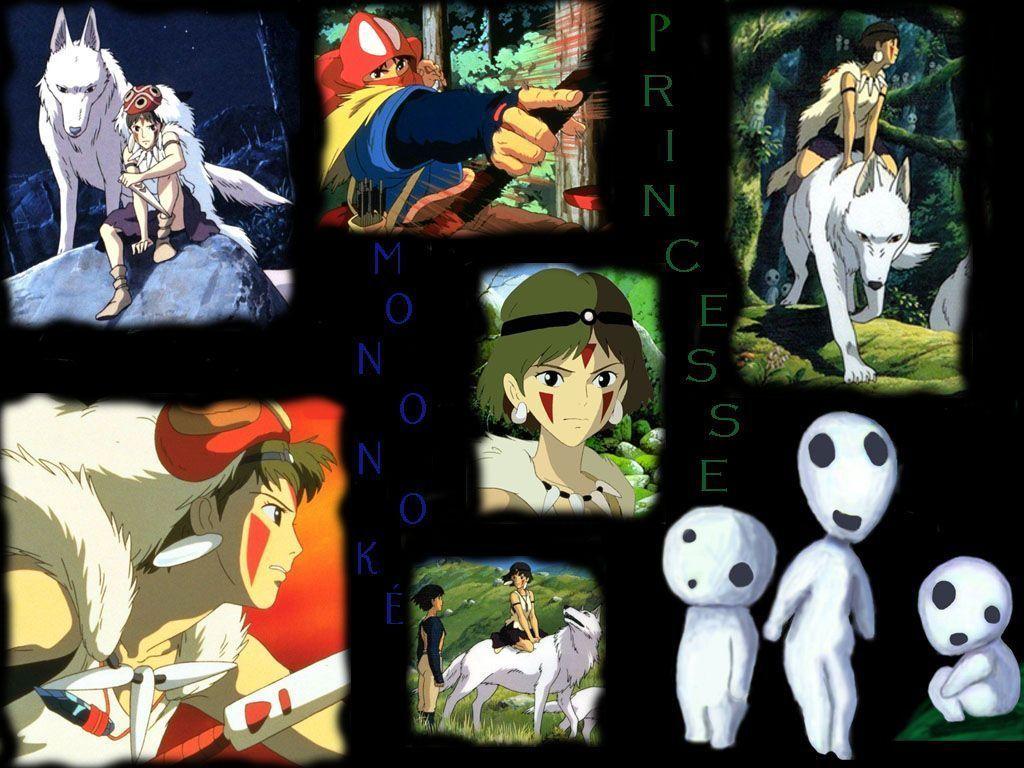 studio ghibli - [Ghibli] Princesse Mononoké Agsj698c