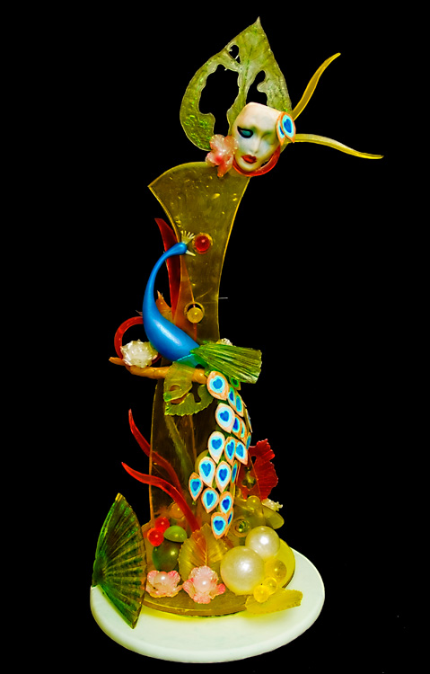 Skulpture od šećera JeanVendevillePeacock-
