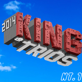 Carte CHIKARA King of Trios du 19 au 21/09/2014 KOT340-1