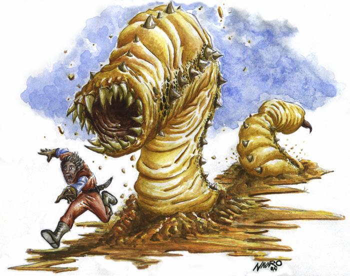 Description des Lieux et monstres présents Sandworm_b1