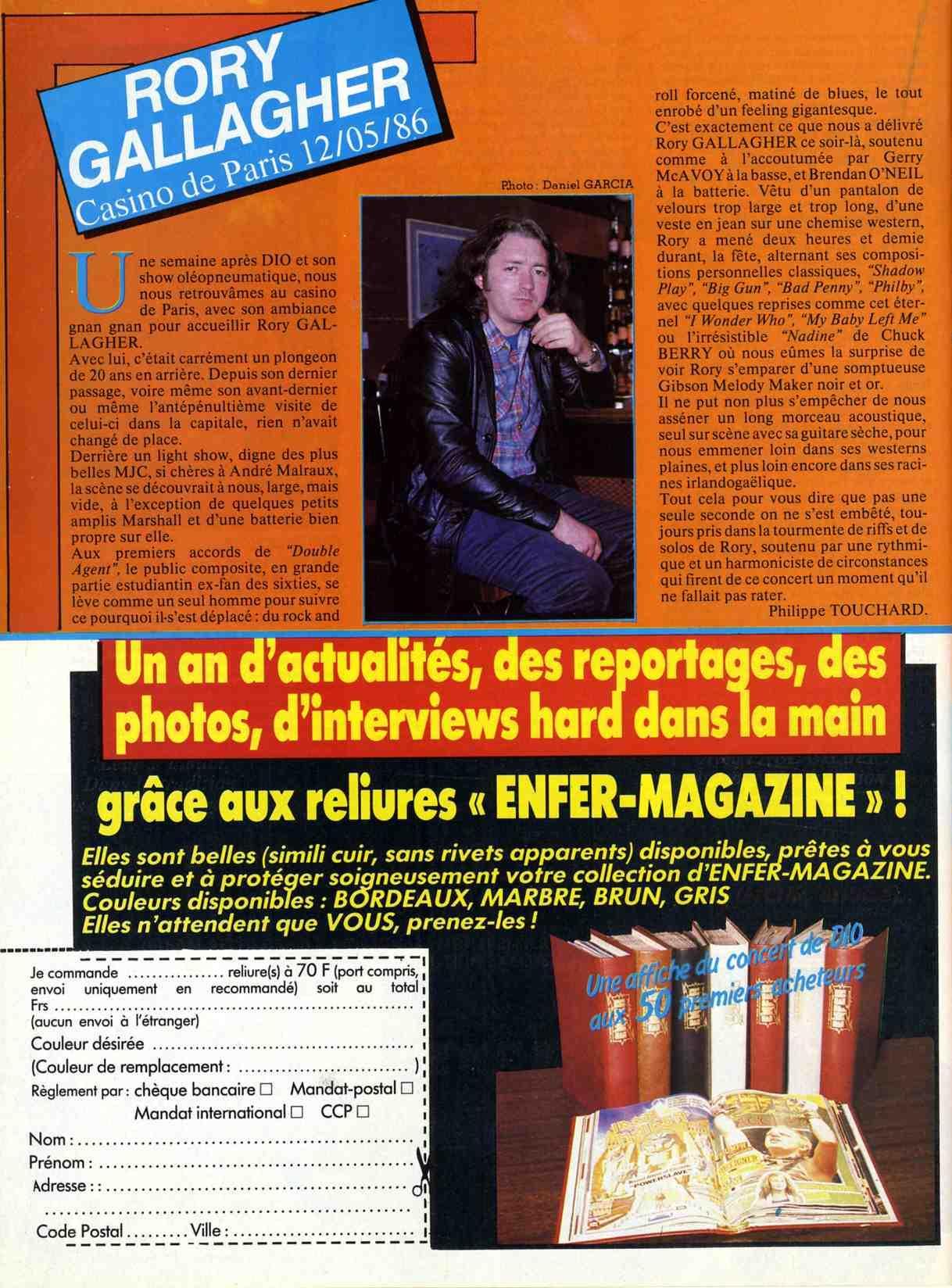 Rory dans les revues et les mags - Page 14 P56