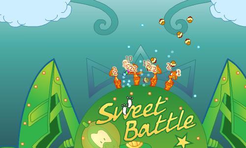 Sweet battle Glitches Sweet-battle