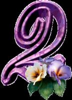 """Chiffres """"Fleurs"""" 0b95632b"""