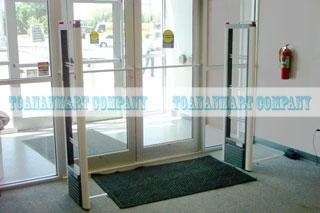 cổng từ, cửa từ an ninh chống trộm cho siêu thị Congtuanninh11