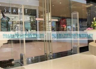 cổng an ninh chống trộm, thiết bị chống trôm cho siêu thị Congtuanninh139