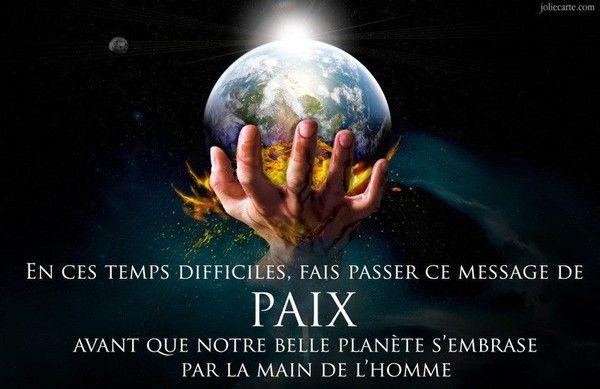 Message Paix 3441e559