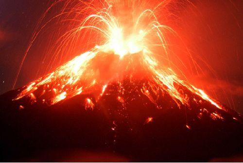 Humeur du jour... en image Volcan