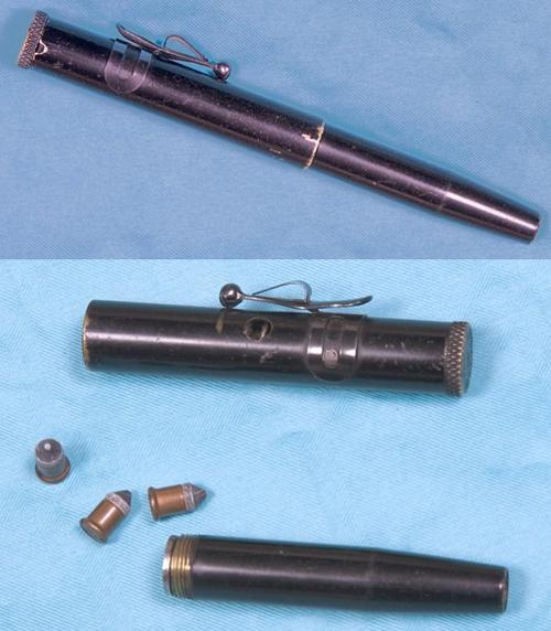 augmentation significative de la criminalité en France Stylo-pistolet-us-patent