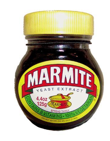 La gastronomie anglaise. Marmite