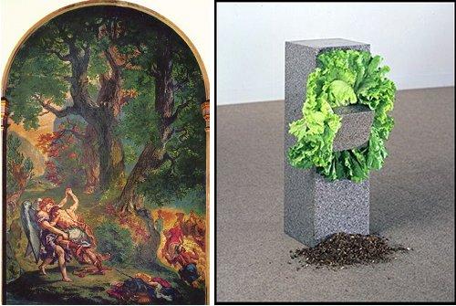 Delacroix entre autre Salades