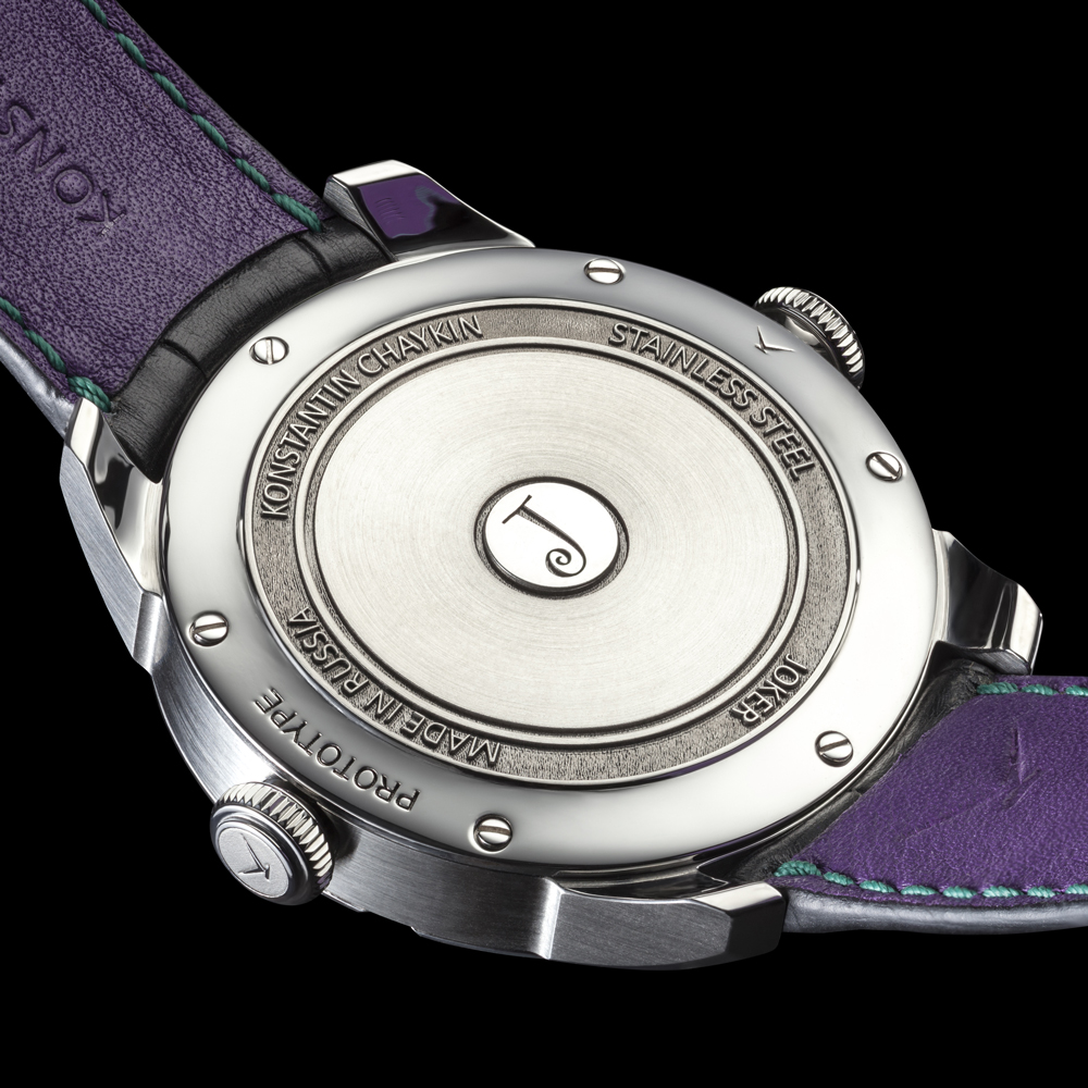 Les fabuleuses créations du maître horloger Russe Konstantin Chaykin Konstantin-Chaykin-Joker-Back