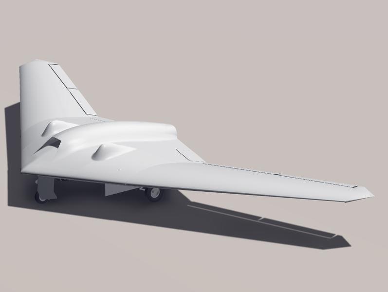 شركة لوكهيد مارتن الامركية مع بعض منتجاتها UAV-RQ-170_2