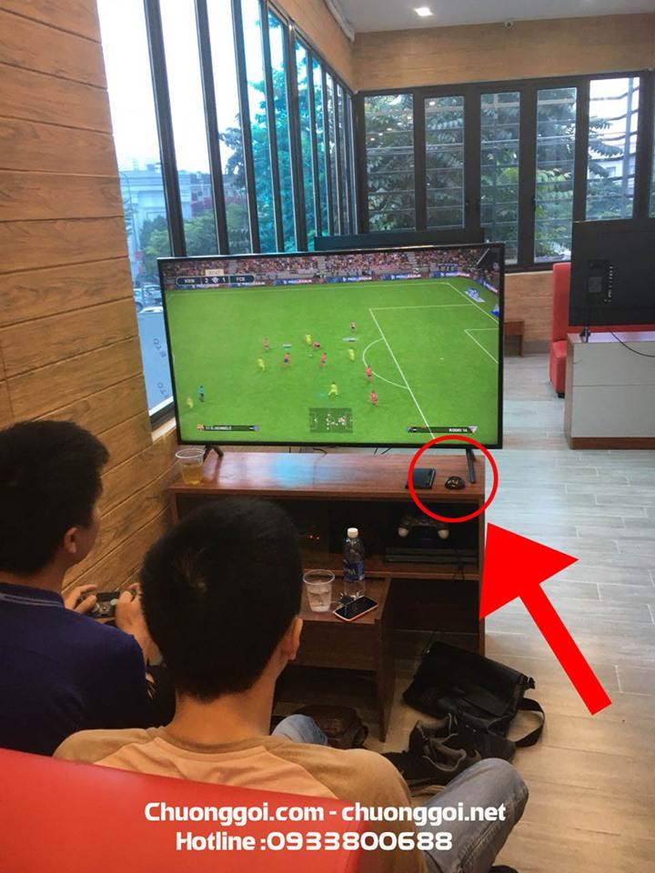 Minh Thành triển khai lắp đặt hệ thống chuông gọi không dây tại quán game PS4 Xã Đàn 70952676_2453741441573853_4648000933282709504_n