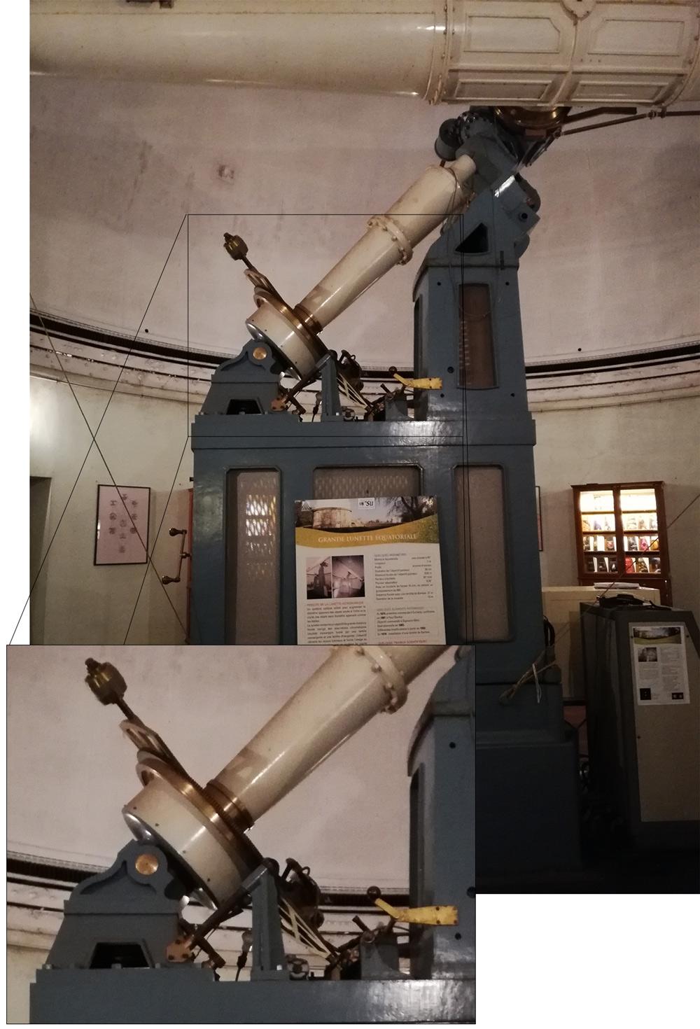 visite à l'observatoire de Floirac Equatoriale