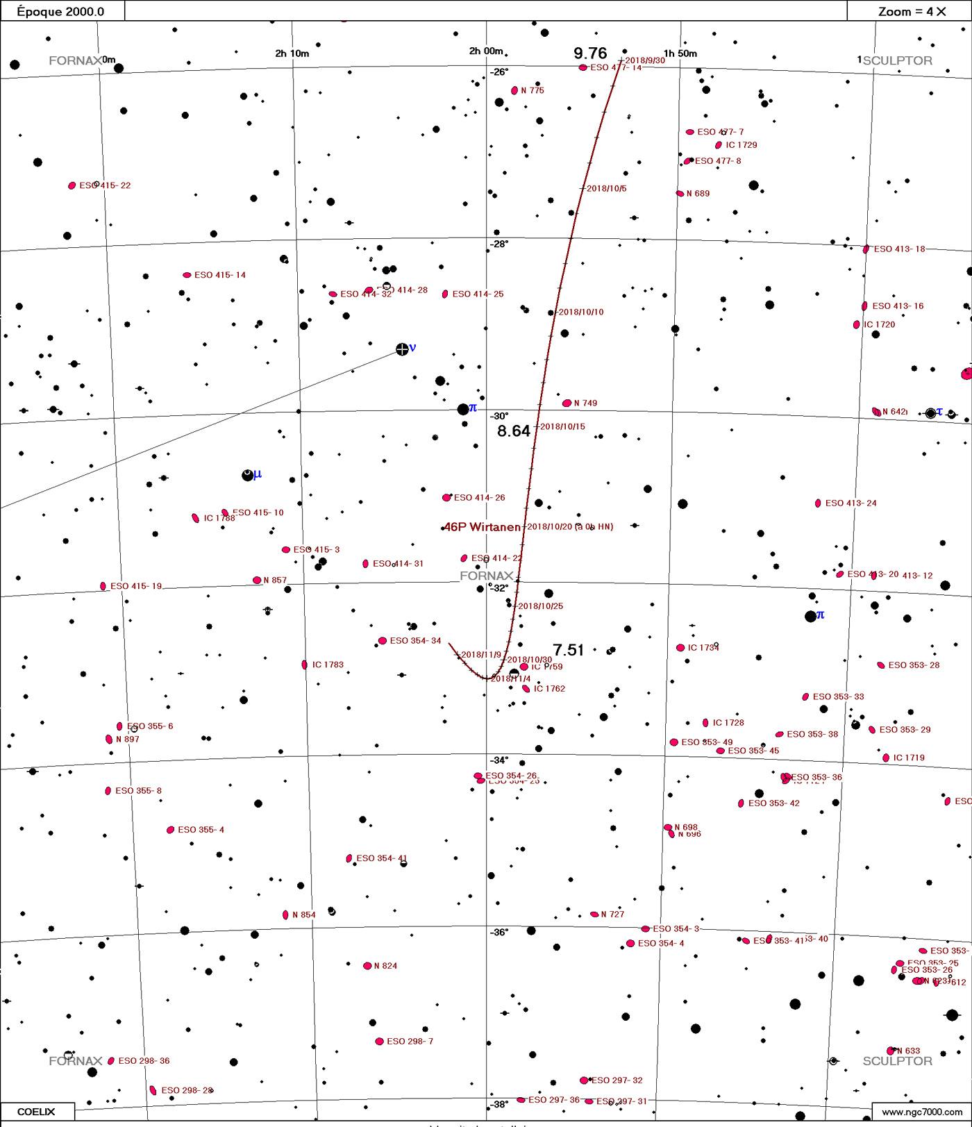 Comète 46P/Wirtanen Wirtanen10