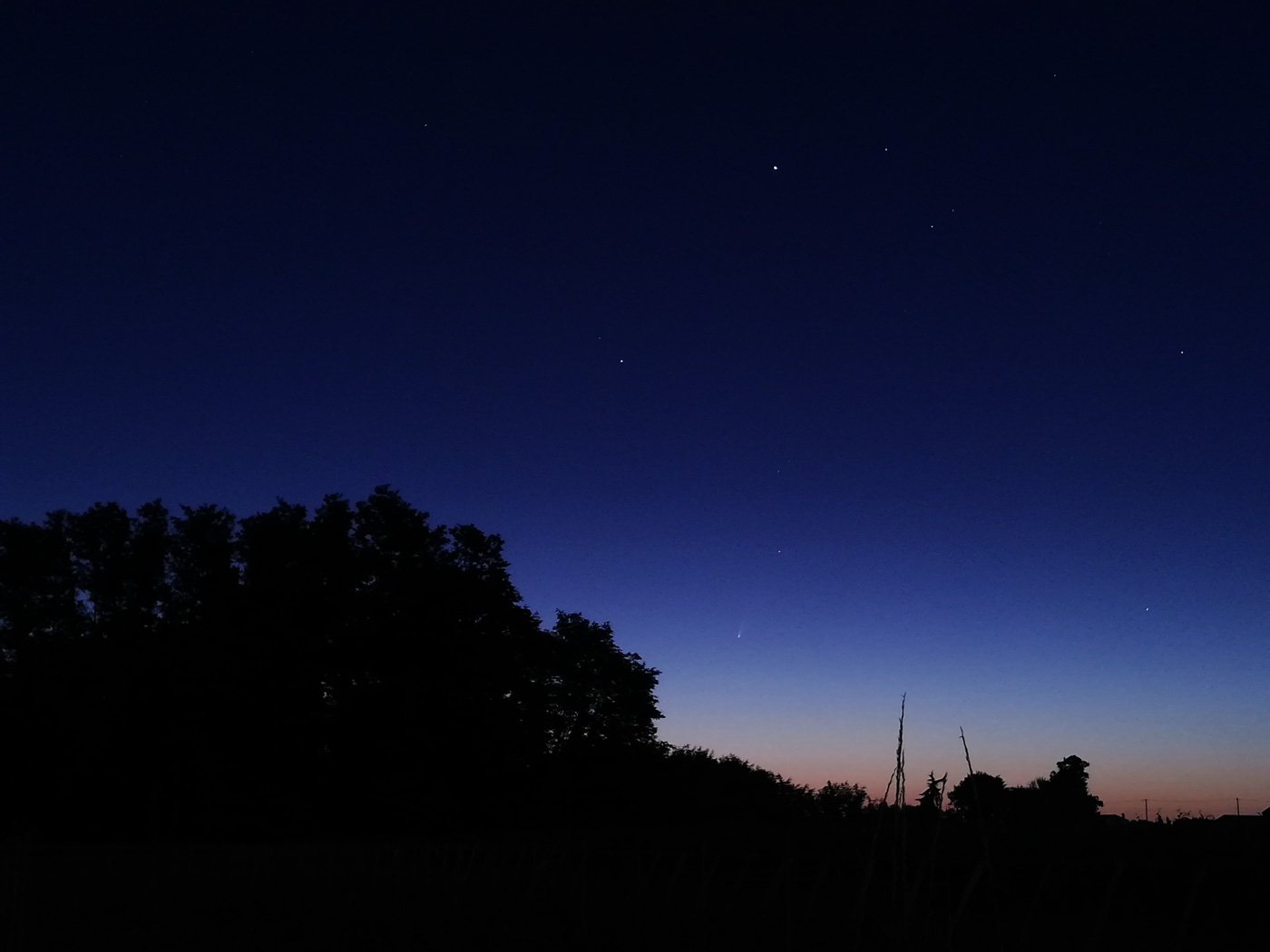 Comète C/2020 F3 NEOWISE F3