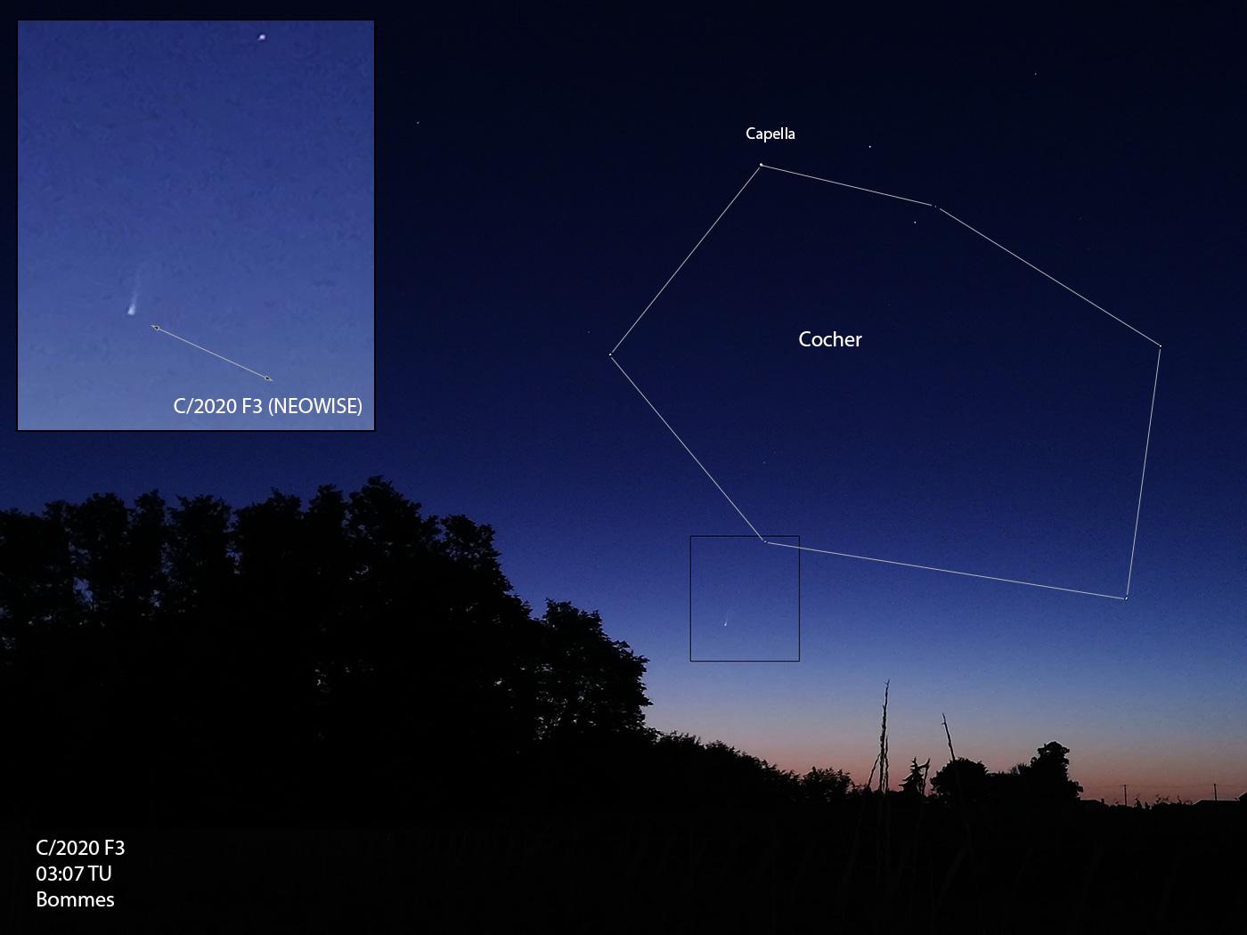Comète C/2020 F3 NEOWISE F3_07_07_2020