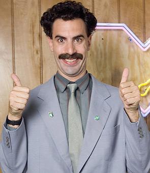 El topic de AMERICAN HORROR STORY - Página 2 Borat-saludo