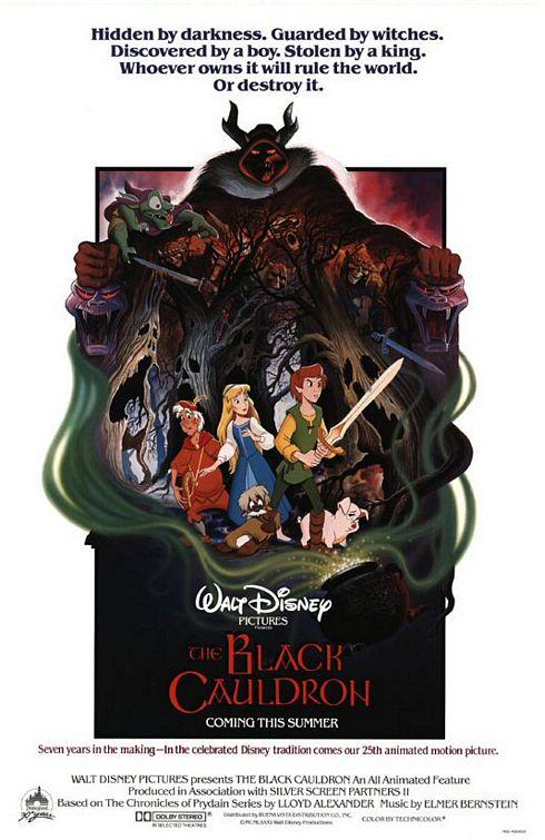 [DVD] Taram et le Chaudron Magique - Edition Exclusive (6 octobre 2010) - Page 6 Black_cauldron_ver1