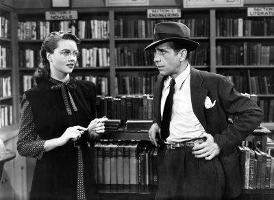 Les scènes de librairies et de bibliothèques au cinéma! Big-sleep