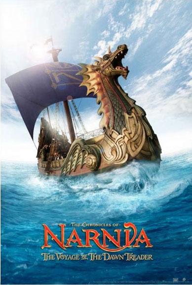 [20th] Le Monde de Narnia : L'Odyssée du Passeur d'Aurore (2010) - Page 6 Narnia3TeaserPoster