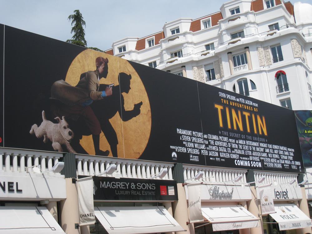 [Paramount • Nickelodeon] Les Aventures de Tintin : Le Secret de la Licorne (2011) - Page 3 8-Posters-Croisette
