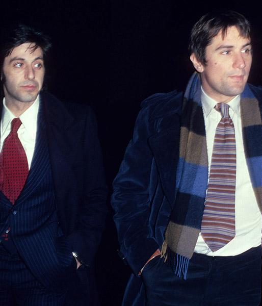 ¿Cuánto mide Al Pacino? - Altura - Real height Al-pacino-y-robert-de-niro-de-paseo-por-manhattan-1-de-noviembre-de-1977-b