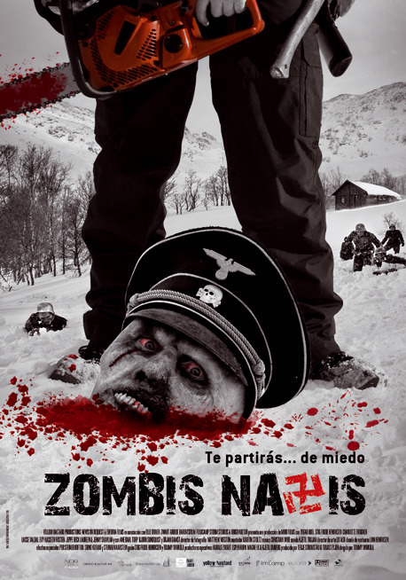 Mejores films world war II - Página 2 Zombis-nazis-cartel