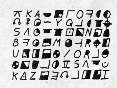 Scorpion letters/ciphers sent to John Walsh Scorpion3