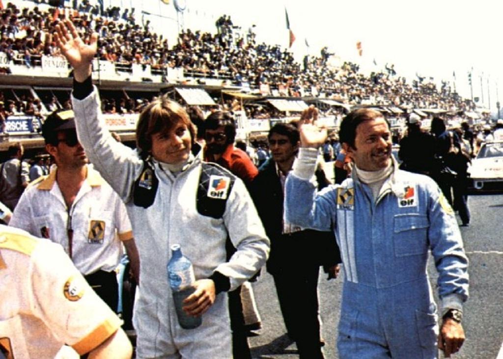 Nécrologie - sports mécaniques (Nino Vaccarella) - Page 9 Pironi-Jaussaud-1978-Le-Mans-