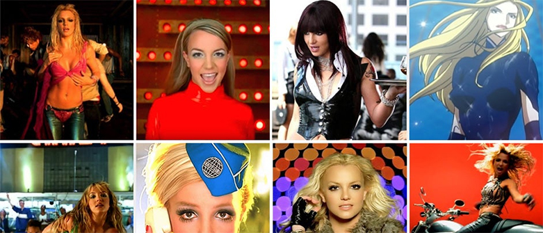 YouTube: Britney Spears' videos remastered Videos