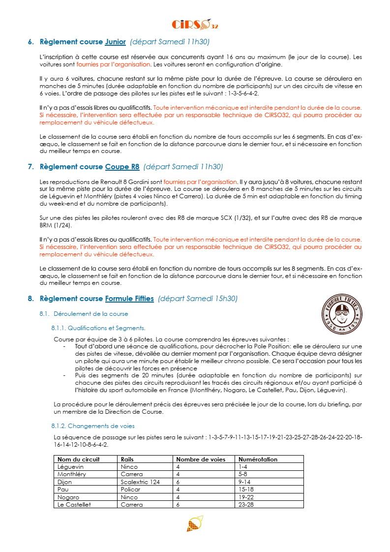 GPL 2020 (Grand Prix de Leguevin) Le programme complet P10