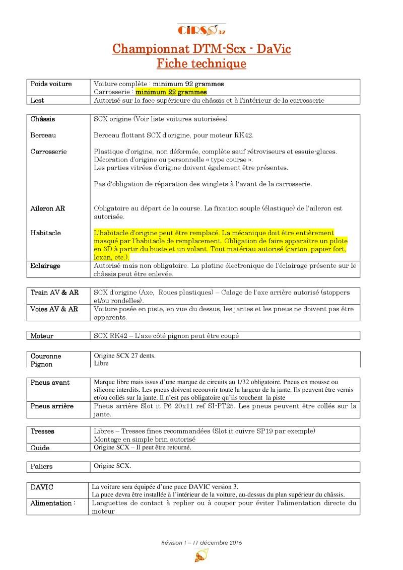 Règlement du Championnat digital DTM SCX 2017 Cirso_reglement_technique_DTM_Scx-Davic_1_r1