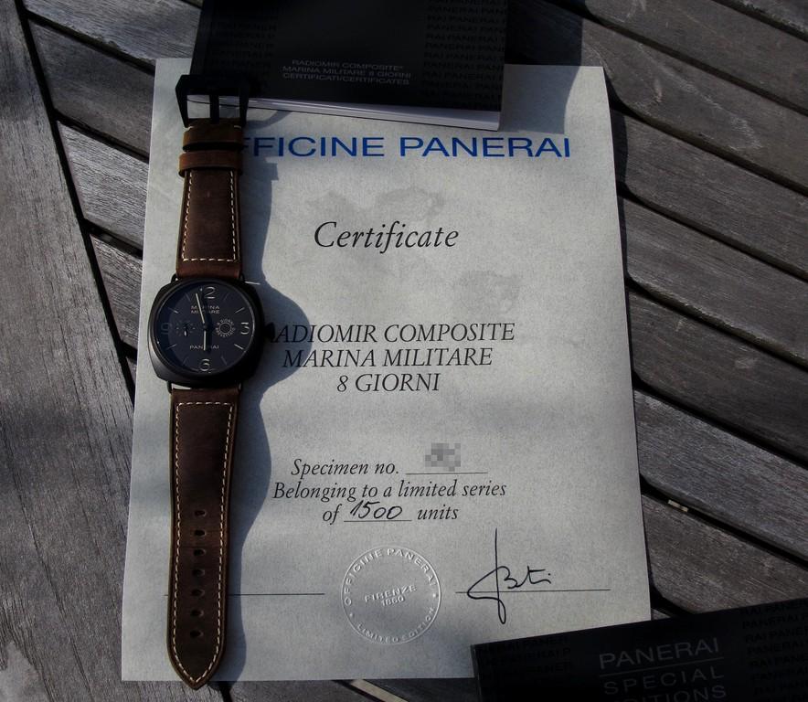 Panerai Radiomir Composite Marina Militare PAM339 339revue05