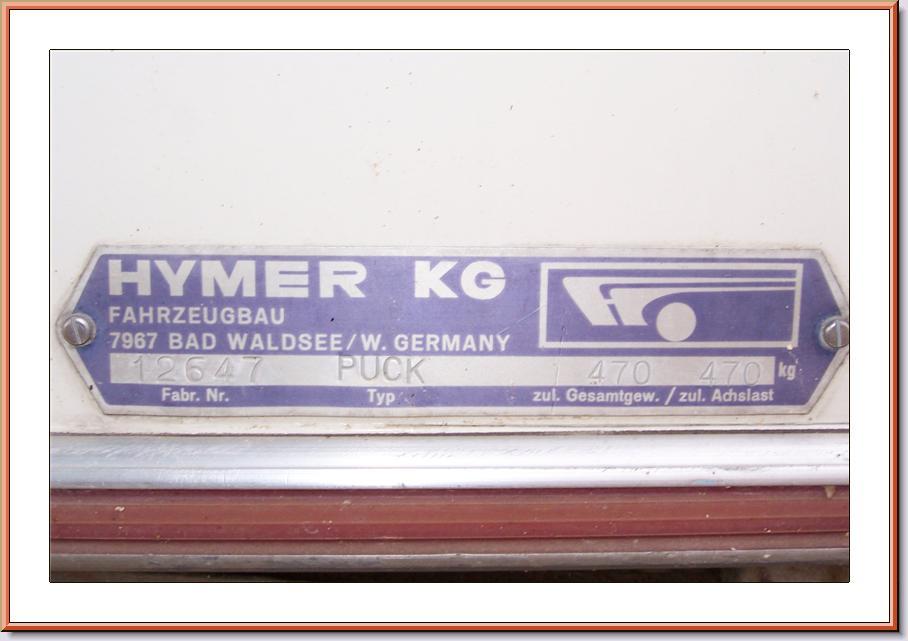 Plaque constructeur Eriba / Hymer [Post Photos] 1000