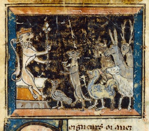 Le Roman de Renart (Illustré) Fr_1579_001