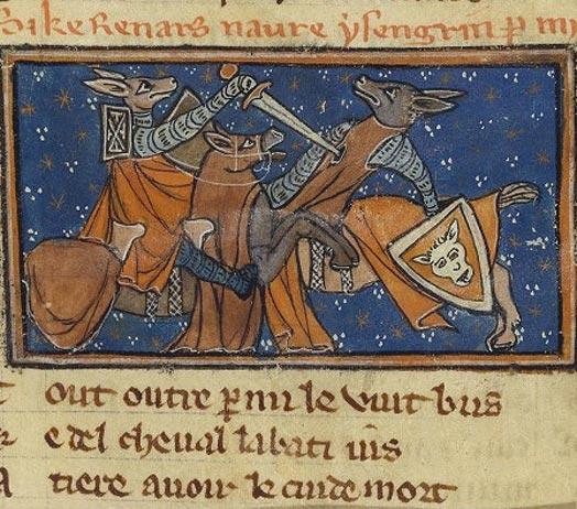 Le Roman de Renart (Illustré) Fr_1581_006v