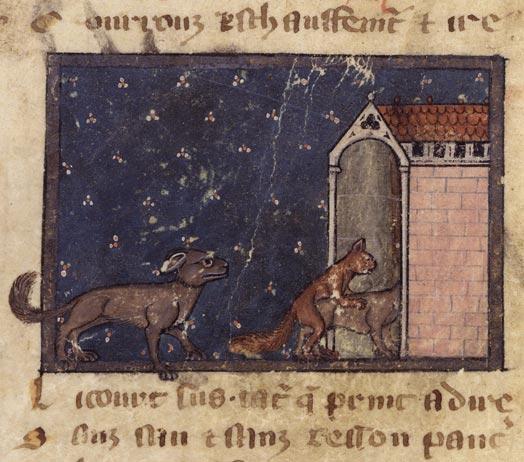 Le Roman de Renart (Illustré) Fr_1630_060v