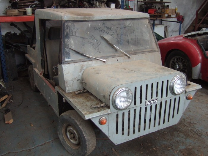 Mk1 scamp pickup. Likely to be moke inspired S2_5