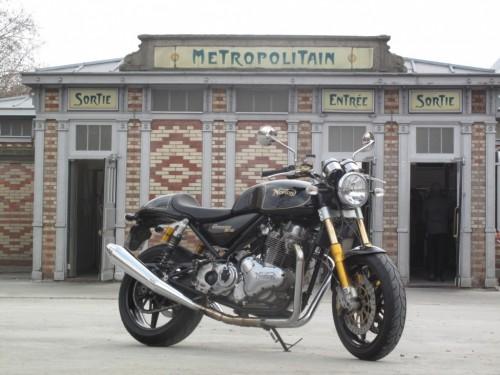 Motos anglaises Norton-new