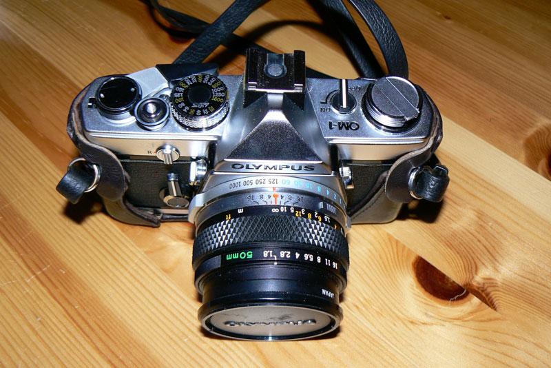 Mon premier appareil photo OM1
