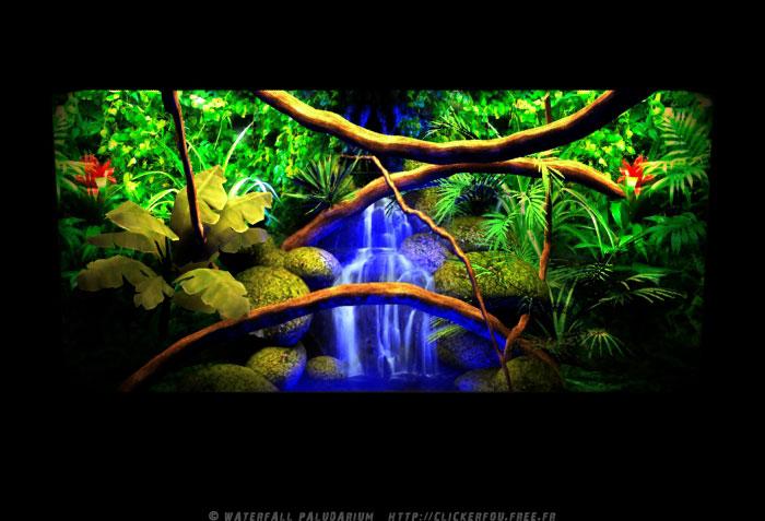 Fontaine paludarium Waterfall-Paludarium_002