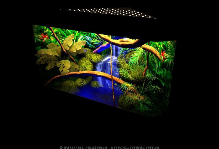 Fontaine paludarium Waterfall-Paludarium_004